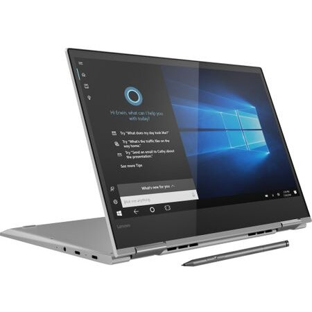 Notebook YG730-13IWL 13.3 UHD Touch i5-8265U 8GB 256GB Windows 10 Home Silver