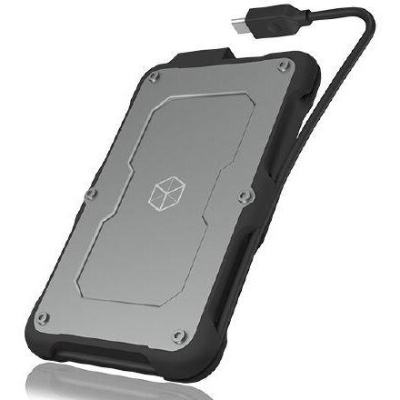 HDD Rack IcyBox External enclosure for 2,5'' SATA SSD/HDD, USB 3.1 Type-C, waterproof IP6