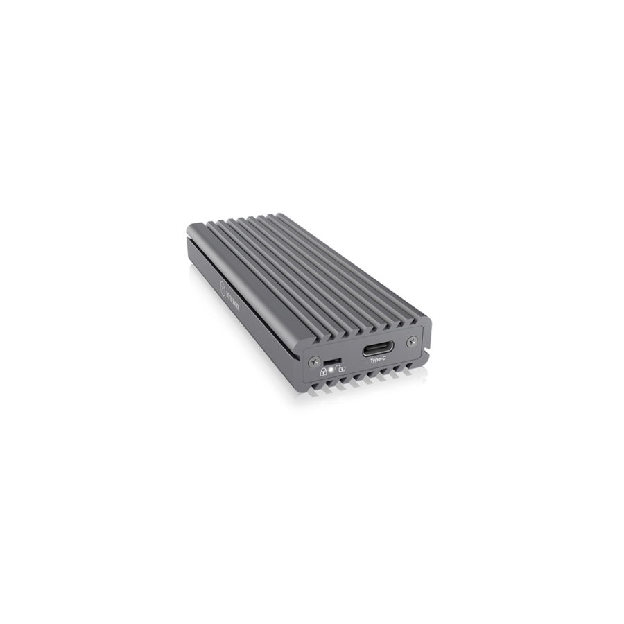 HDD Rack IcyBox External enclosure for M.2 NVMe SSD, USB 3.1 Type-C, Grey