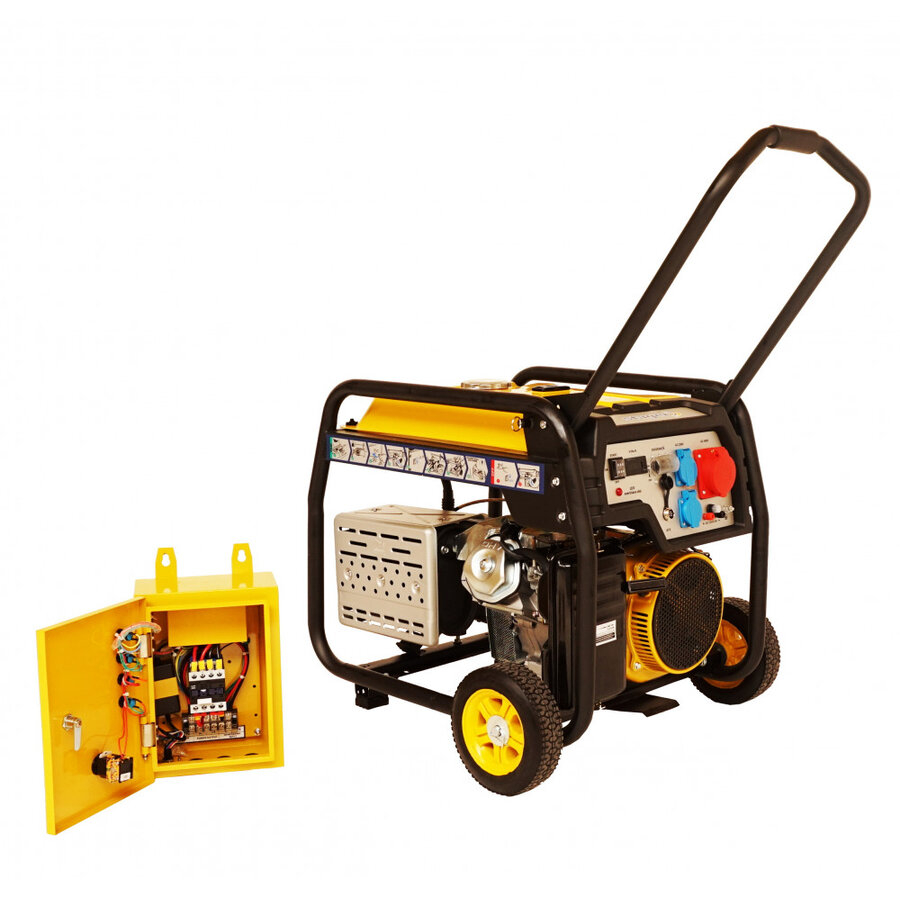 Generator open frame Stager FD 10000E3+ATS, 8.5 Kw