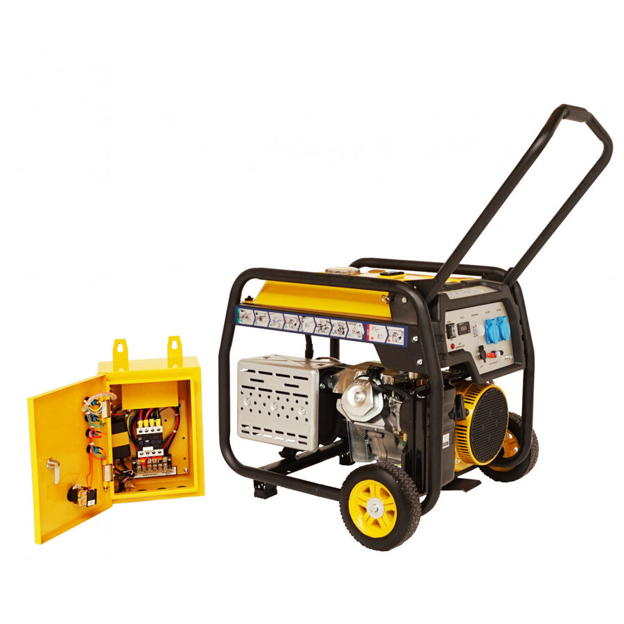 Generator open frame Stager FD 10000E+ATS, 8.5 kW