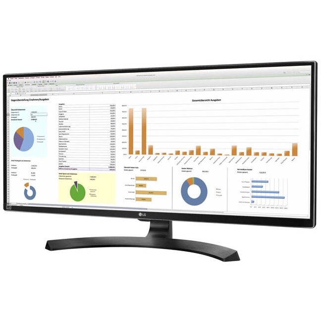 Monitor LED LG 34UB88-B 32 UltraWide Quad HD 3440 x 1440 5ms