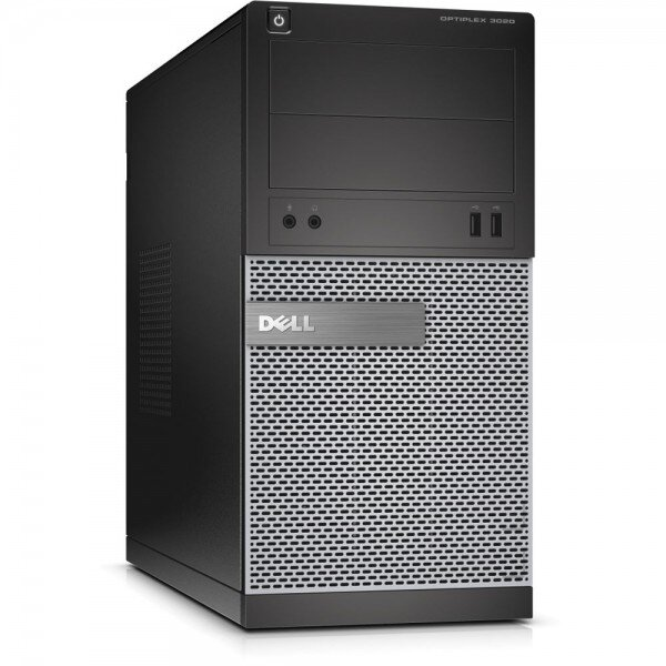 Calculator DELL Optiplex 3020 Tower, Intel Core i3-4160 3.60 GHz, 4GB DDR3, 250GB SATA, DVD-RW