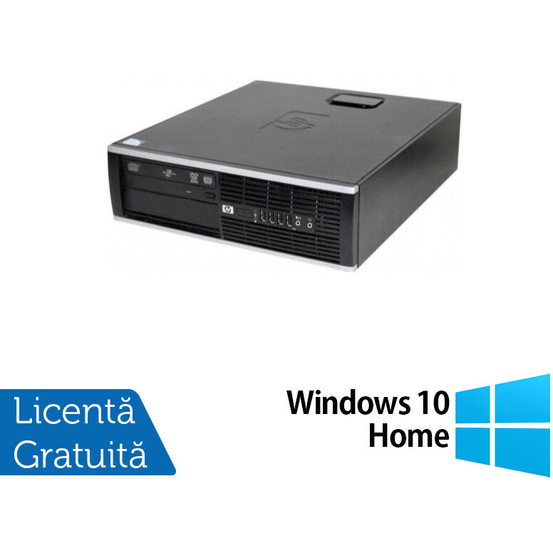 HP 6000 Pro SFF, Intel Core 2 Duo E8400 3.0GHz, 4GB DDR3, 250GB SATA, DVD-RW + Windows 10 Home