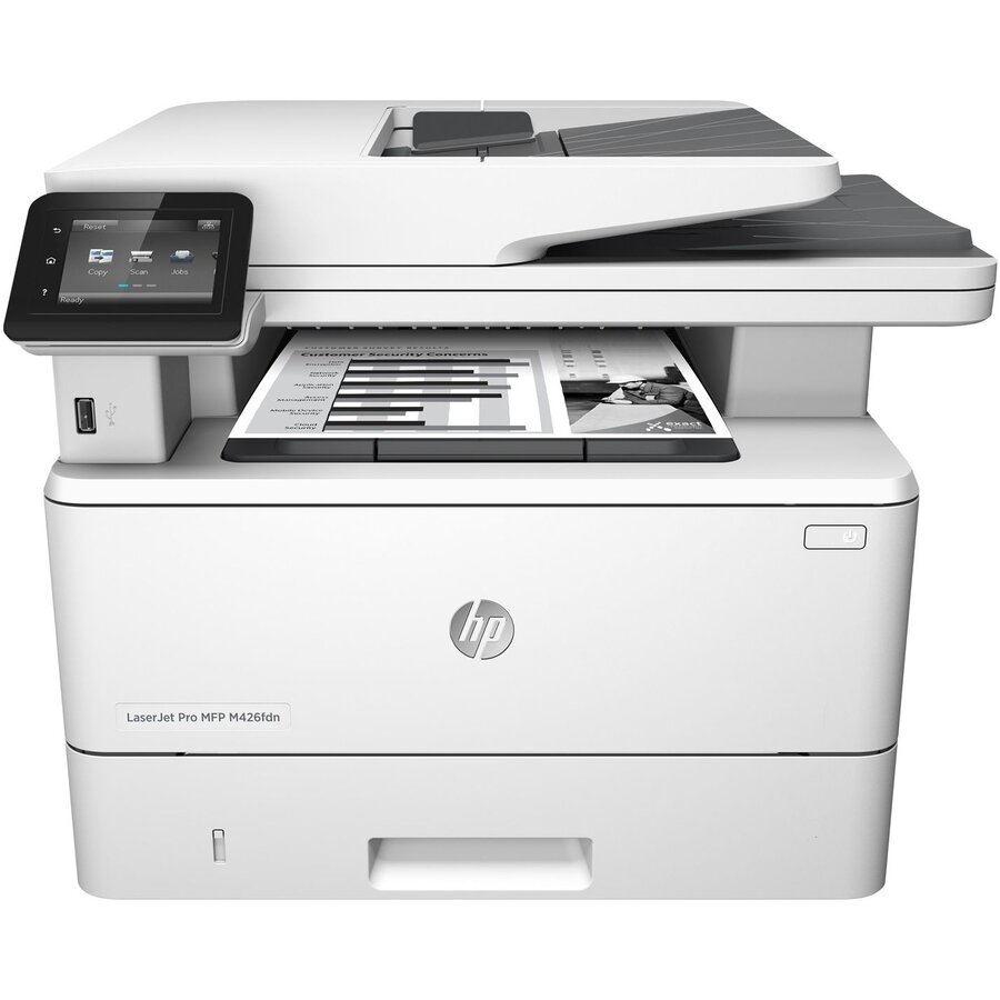 Multifunctionala Multifunctionala laser monocrom HP LaserJet Pro MFP M426fdn, A4, ADF, Duplex, Ethernet Refurbished