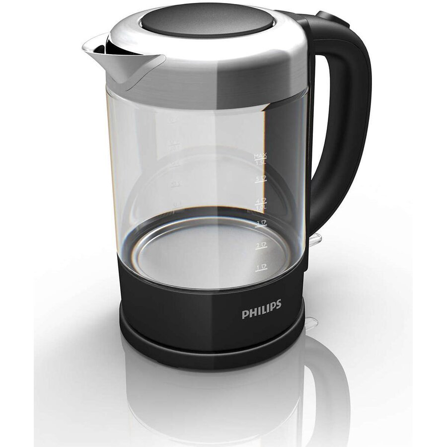 Fierbator Kettle electric Philips Avance Collection HD9340/90 (2200W 1.5l; black color)