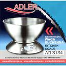 Cantar de bucatarie Weighing scale kitchen Adler AD 3134 (inox color)