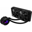 Asus ROG STRIX LC 240 AIO cooler, RGB lighting, Aura sync, ROG radiator fans