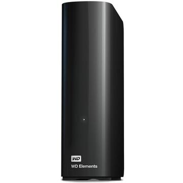 Hard disk extern Western Digital External HDD WD Elements Desktop 3.5'' 12TB USB3, Black