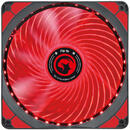 Marvo Ventilator 140 mm  FN-16 red LED