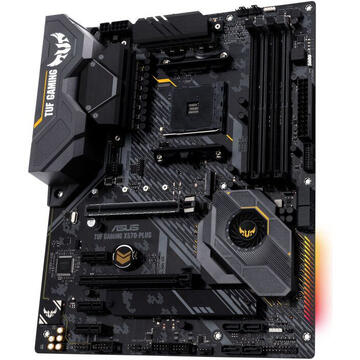 Placa de baza ASUS TUF GAMING X570-PLUS, AM4, 4*DDR4, HDMI/DP, ATX