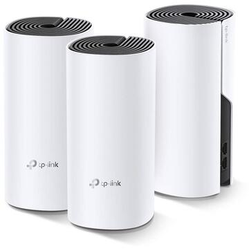 Router wireless TP-LINK Sistem wireless Complete Coverage Deco M4(3-pack) AC1200 Whole-Home