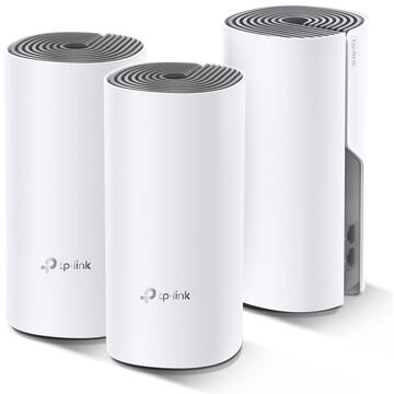 Router wireless TP-LINK Sistem wireless tip mesh Deco E4 AC1200, 3-pack