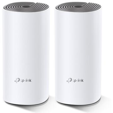 Router wireless TP-LINK Sistem wireless tip mesh Deco E4 AC1200, 2-pack