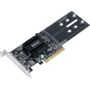 Synology Dual M.2 (2280/2260/2242) SSD adapter card for better SSD caching, PCIe