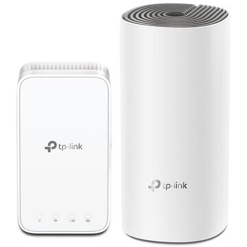 Router wireless TP-LINK mesh Deco E3 AC1200, 2-pack
