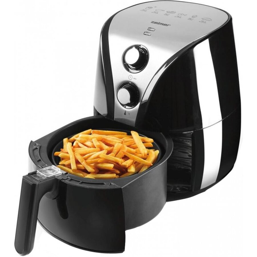 Friteuza Fryer low-fat Zelmer ZAF2000B (2 l; No data; 1230W; black color)