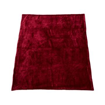 Heinner PATURA FLEECE DARK RED 127X150 CM
