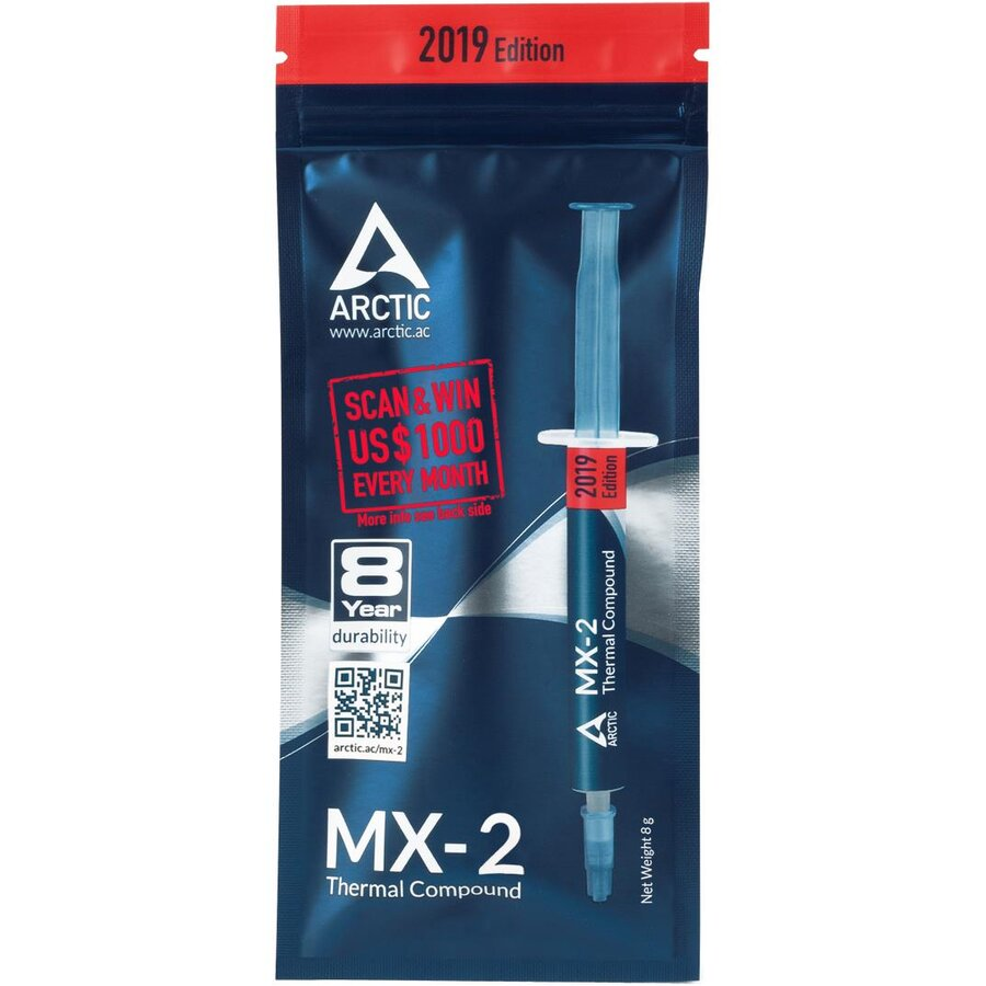 Paste thermally conductive Arctic Cooling MX-2 ACTCP00004B (8 g)