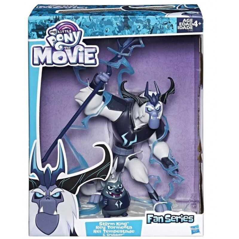 Mlp figurine storm king si grubber
