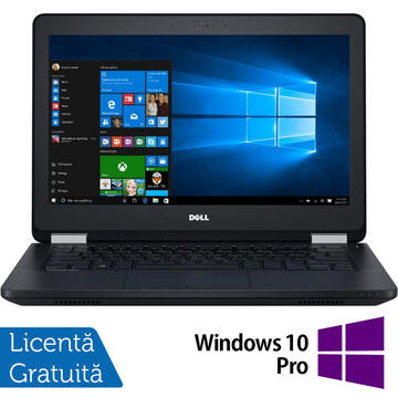 Laptop Refurbished Laptop DELL Latitude E5270, Intel Core i5-6300U 2.40GHz, 8GB DDR4, 240GB SSD, 12.5 Inch + Windows 10 Pro