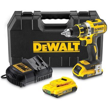 Combi drill brushless battery DeWalt DCD790D2-QW