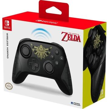 HORI wireless Horipad (Zelda), Gamepad (black)