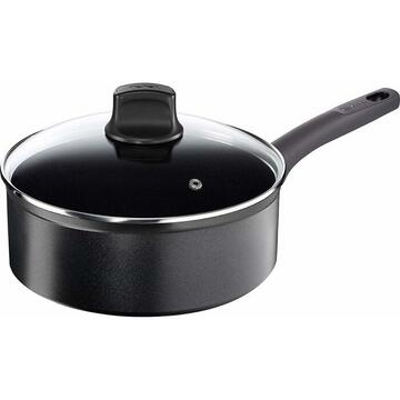 Tefal So Tough Frying pan 26cm black - with lid G10733
