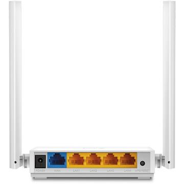 Router wireless TP-LINK N300 Wi-Fi Router 300Mbps at 2.4GHz 5 10/100M Ports 2