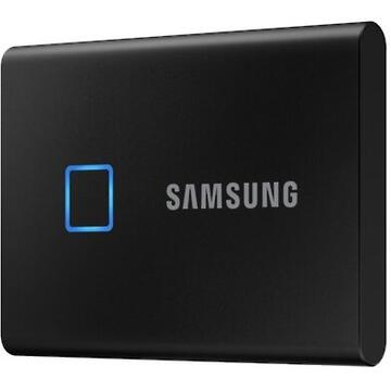 SSD Extern Samsung Portable SSD T7 Touch 500GB Black