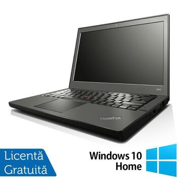 Laptop Refurbished Laptop LENOVO Thinkpad x240, Intel Core i7-4600U 2.10GHz, 8GB DDR3, 120GB SSD, 12 Inch + Windows 10 Home
