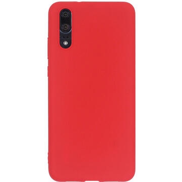 Husa Just Must Husa Silicon Candy Huawei P20 Red