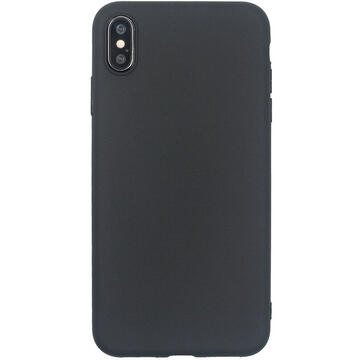 Husa Just Must Husa Silicon Candy iPhone XS Max Black