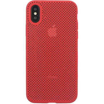 Husa Just Must Husa Silicon Nest iPhone XS / X Red
