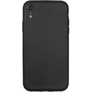 Husa Just Must Husa Silicon Lanker iPhone XR Black
