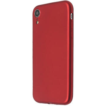 Husa Just Must Husa Silicon Lanker iPhone XR Red