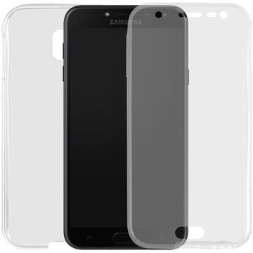 Husa Lemontti Husa Silicon Full Cover 360� Samsung Galaxy J5 (2017) Transparent