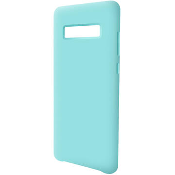 Husa Devia Husa Silicon Nature Series II Samsung Galaxy S10 Plus G975 Green