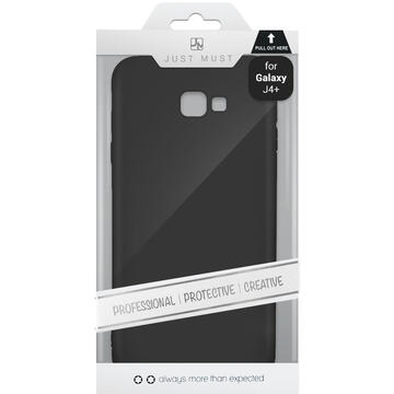 Husa Just Must Husa Silicon Candy Samsung Galaxy J4 Plus Black