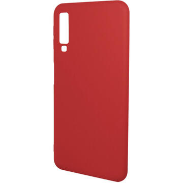 Husa Just Must Husa Silicon Candy Samsung Galaxy A7 (2018) Red