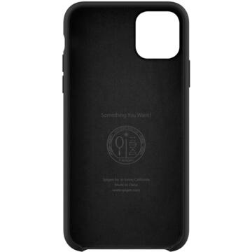 Husa Spigen Husa Silicone Fit iPhone 11 Pro Max Black