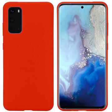 Husa Just Must Husa Silicon Candy Samsung Galaxy S20 Plus Red