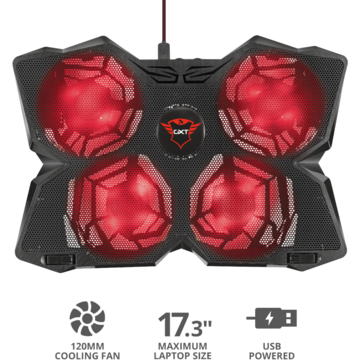 Trust GXT 278 NOTEBOOK COOLING STAND up to 17.3