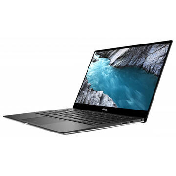 Notebook Dell XPS 13 (7390), FHD InfinityEdge, Procesor Intel® Core™ i7-10710U (12M Cache, up to 4.70 GHz), 16GB, 512GB SSD, GMA UHD, Win 10 Pro, Silver, 3Yr