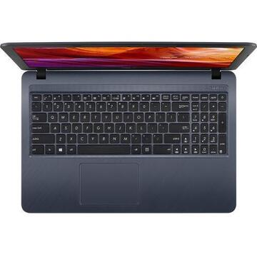 Notebook Asus VivoBook X543MA-GQ506, Intel Celeron Dual Core N4020, 15.6inch, RAM 4GB, SSD 256GB, Intel UHD Graphics 600, Endless OS, Star Gray