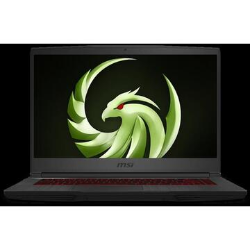 Notebook MSI BRAVO 15 4600H 8GB 256 RX5500M-4GB DOS