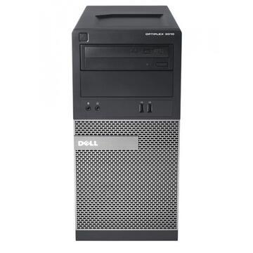 Desktop Refurbished Calculator Dell OptiPlex 3010 Tower, Intel Core i5-3470 3.20GHz, 4GB DDR3, 500GB SATA, DVD-ROM