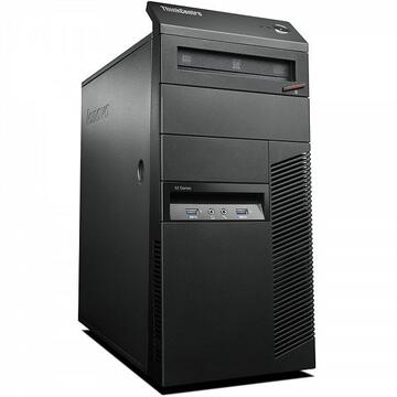 Desktop Refurbished Calculator Lenovo Thinkcentre M83 Tower, Intel Core i3-4170 3.70GHz, 4GB DDR3, 250GB SATA, DVD-ROM
