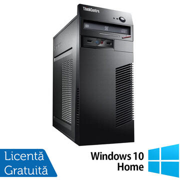 Desktop Refurbished Calculator Lenovo ThinkCentre M71e, Intel Core i3-2120 3.30GHz, 4GB DDR3, 250GB SATA + Windows 10 Home