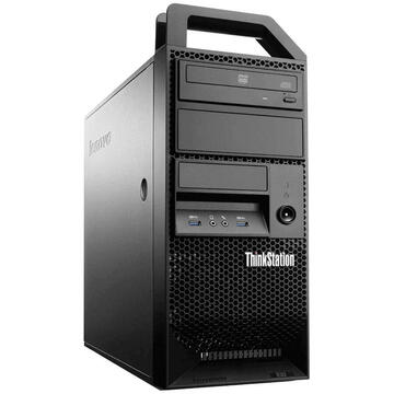Desktop Refurbished Workstation Lenovo ThinkStation E31 Tower, Intel Core i7-3770 3.40GHz-3.90GHz, 8GB DDR3, 500GB HDD, Intel HD Graphics 4000
